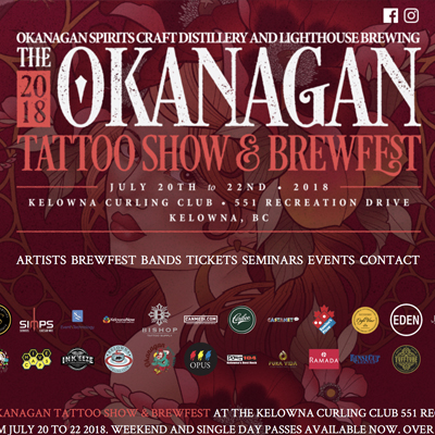 Okanagan Tattoo Show & Brew Fest 2018